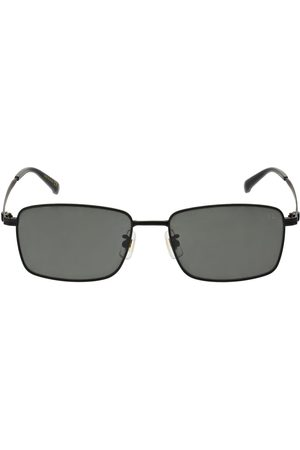 Dunhill Men Sunglasses - Signature Squared Metal Sunglasses