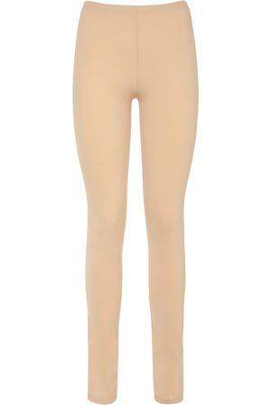 MM6 MAISON MARGIELA Minimal Logo Jersey Pants