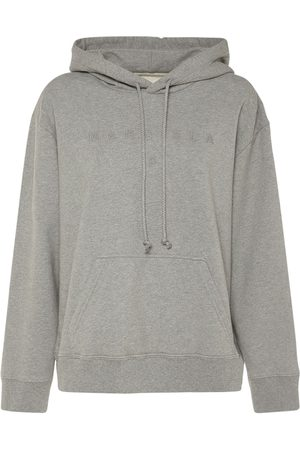 MM6 MAISON MARGIELA Embroidered Jersey Sweatshirt Hoodie