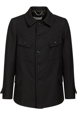 Maison Margiela Wool & Cotton Blend Jacket