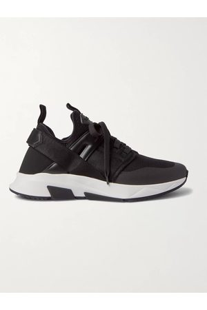 TOM FORD Jago Neoprene, Mesh and Nylon Sneakers
