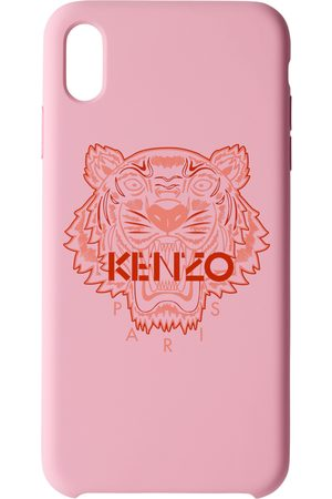 Kenzo Phones - Pink & Red Tiger iPhone X+ Case