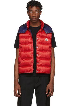 Moncler Red Down Billecart Vest