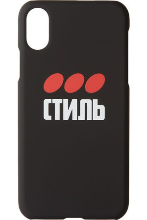 Heron Preston Black 'Style' iPhone XS Case