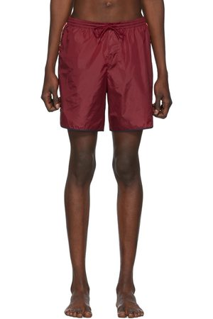 Gucci Red GG Swim Shorts