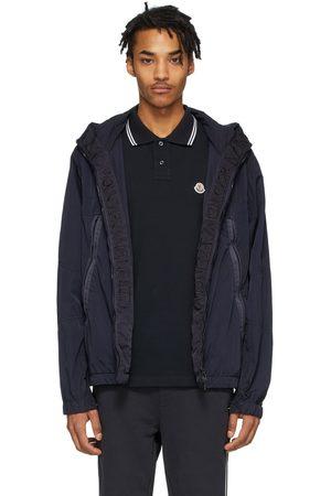Moncler Black Windbreaker Jacket