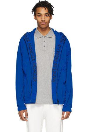 Moncler Blue Windbreaker Jacket