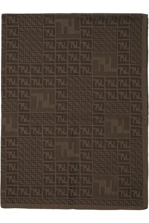 Fendi Brown Faded 'Forever ' Scarf