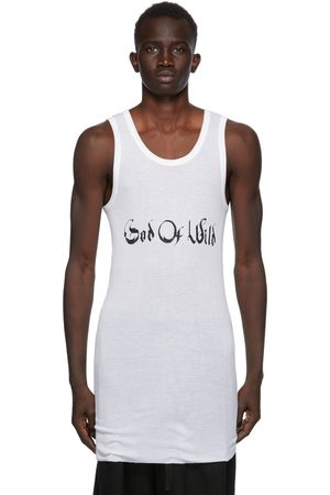 ANN DEMEULEMEESTER SSENSE Exclusive White God of Wild Chic Tank Top