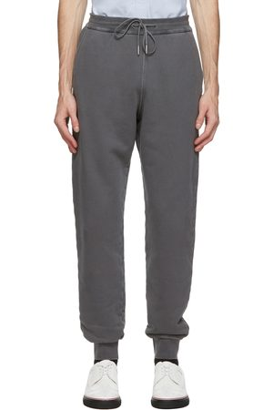 Thom Browne Grey Loopback Classic Sweatpants