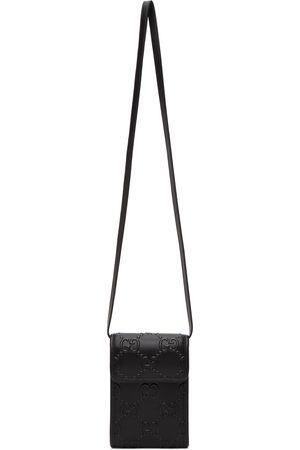 Gucci Black Mini GG Embossed Bag