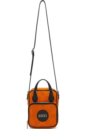 Gucci Orange Small Off The Grid Messenger Bag