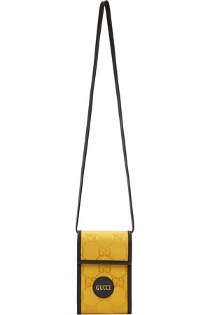 Gucci Black & Yellow Mini 'Off The Grid' GG Messenger Bag