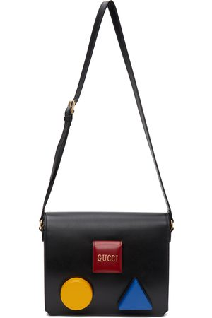Gucci Black & Multicolor Board Messenger Bag