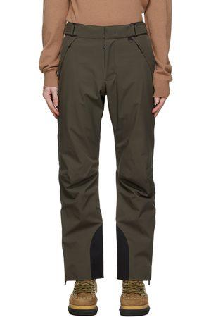 Moncler Khaki Ski Trousers