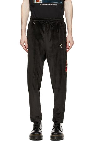 DOUBLET Men Sports Trousers - Chaos Embroidery Comfy Sweatpants