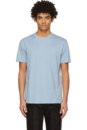 TOM FORD Blue Lyocell Jersey T-Shirt