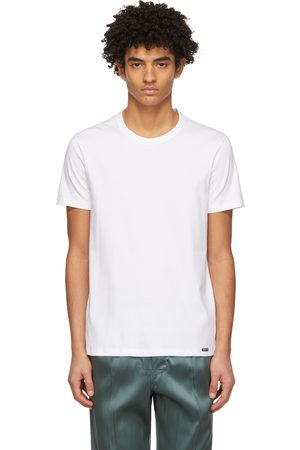 Tom Ford White Jersey T-Shirt
