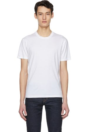 Tom Ford White Lyocell Jersey T-Shirt