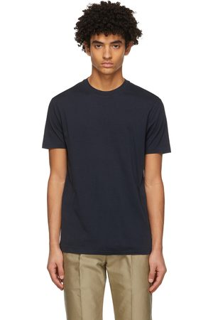 Tom Ford Navy Lyocell Jersey T-Shirt
