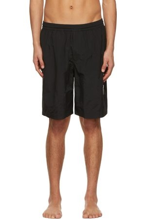 Y-3 Men Swim Shorts - Black Logo Swim Shorts