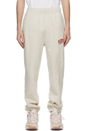Billionaire Boys Club Men Sports Trousers - Beige Small Arch Logo Sweatpants
