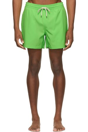 Polo Ralph Lauren Men Swim Shorts - Green Traveler Swim Shorts