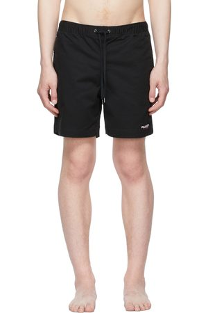 Polo Ralph Lauren Black Classic Fit Swim Shorts