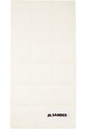 Jil Sander Off-White Down Quilted Scarf