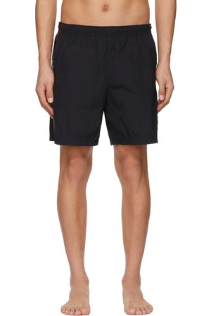 Alexander McQueen Black Selvedge Swim Shorts