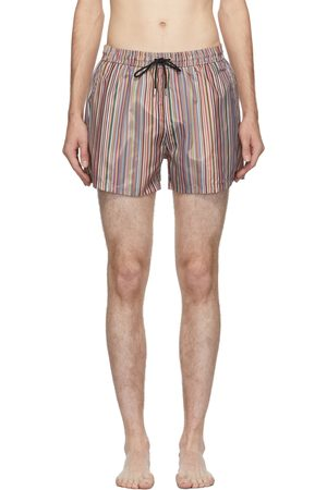 Paul Smith Multicolor Striped Classic Swim Shorts