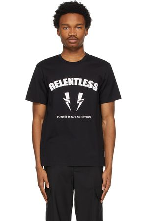 Neil Barrett Black Relentless Sports Bolt T-Shirt