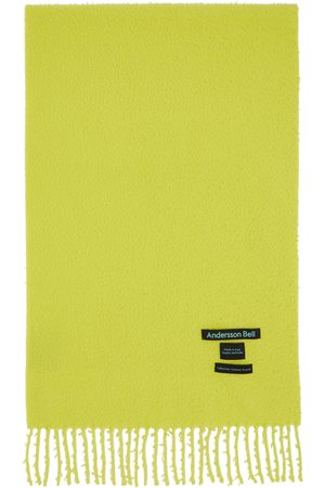 Andersson Bell SSENSE Exclusive Yellow Biella Scarf