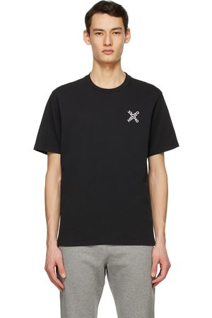 Kenzo Men Sports T-shirts - Black Sport 'Little X' T-Shirt