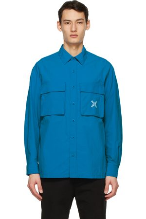 Kenzo Blue Sport 'Little X' Over Shirt