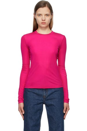 Commission Pink Jersey Sunblock Long Sleeve T-Shirt