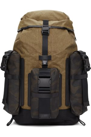 Master-Piece Black & Tan Large Rogue Backpack