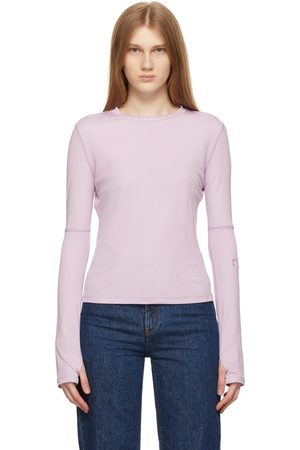 Commission Women Long Sleeve - Purple Jersey Sunblock Long Sleeve T-Shirt