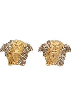 VERSACE Men Earrings - Gold Palazzo Dia Earrings
