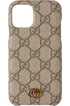 Gucci Phones - Beige Ophidia GG Supreme iPhone 11 Pro Case