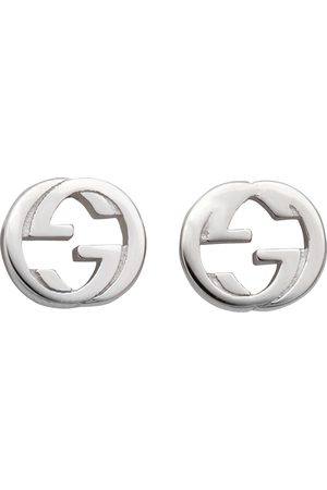 Gucci Men Earrings - Interlocking G Stud Earrings