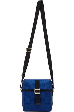 Gucci Men Suitcases - Blue Off The Grid Messenger Bag