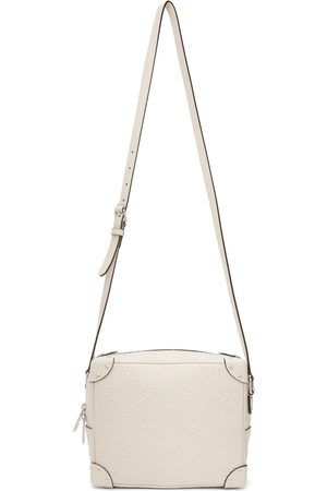 Gucci Off-White GG Embossed Shoulder Bag