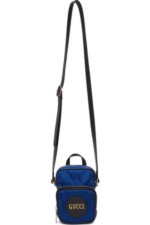 Gucci Blue Off The Grid Mini Messenger Bag