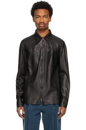 Gucci Black Nappa Leather Jacket
