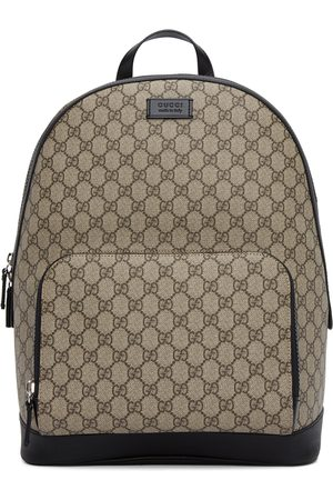 Gucci Beige & Black GG Eden Backpack