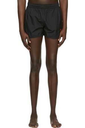 Ami Black Ami De Coeur Swim Shorts