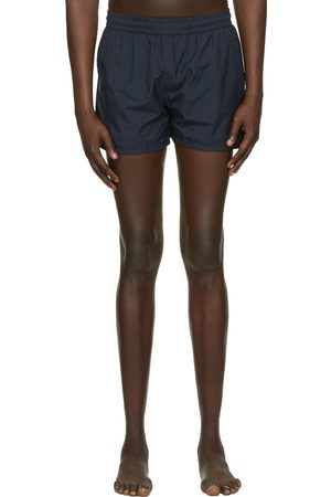 Ami Navy Ami De Coeur Swim Shorts