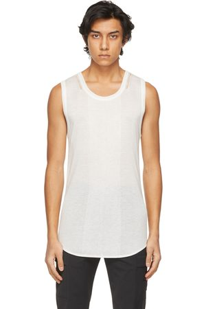 SYSTEM White Knit Tank Top