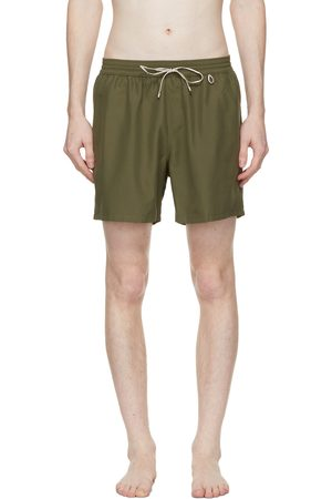 Loro Piana Green Bay Soft Albatros Swim Shorts